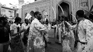 Ritual Pengucuran Darah, Tradisi Kelompok Syiah di Lebanon