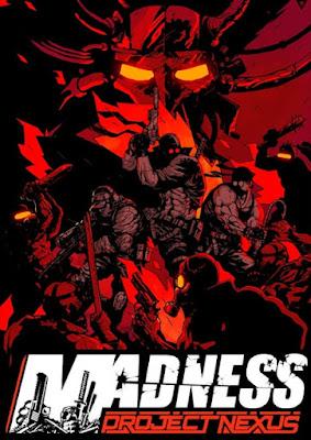Capa do MADNESS: Project Nexus