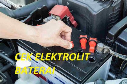Cara Mengukur Berat Jenis Elektrolit Baterai dengan Menggunakan Hydrometer