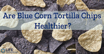 Are blue corn tortilla chips healthy