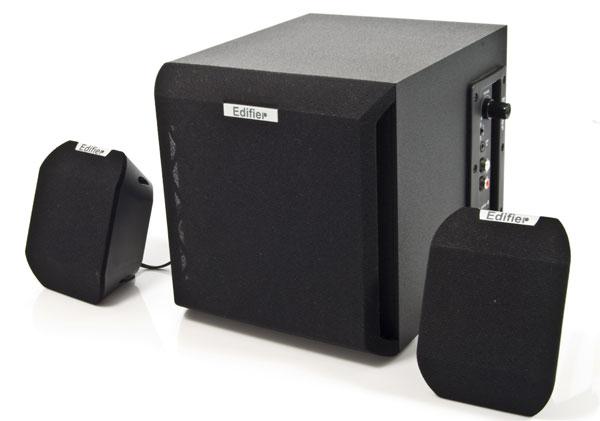 caixa de som Edifier X100B 2.1