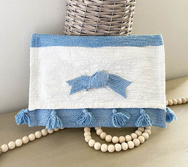 ipad case with beads and basket