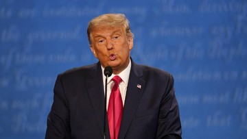 Trump Menyampaikan Pidato Kemenangan di Gedung Putih