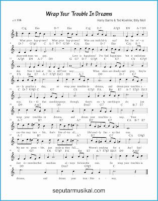 wrap your troubles in dreams lagu jazz standar