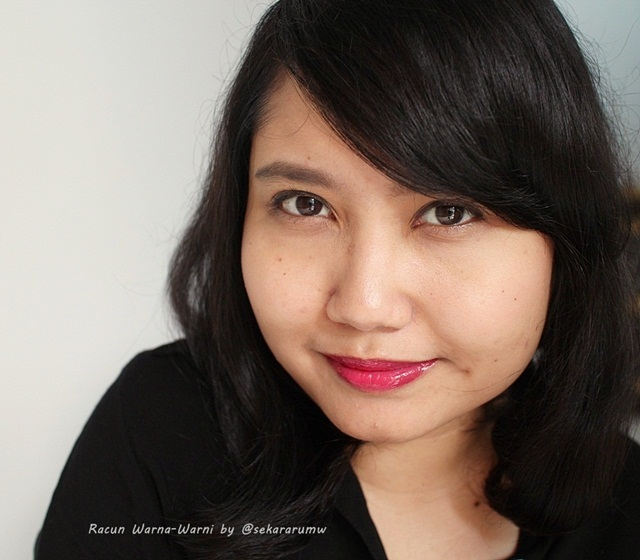 FOTD Revlon Colorstay 015 Barcelona Night