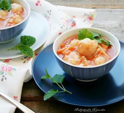 przepis na zupę z dorsza, zupa rybna jak zrobić, przepisn a zupę rybną