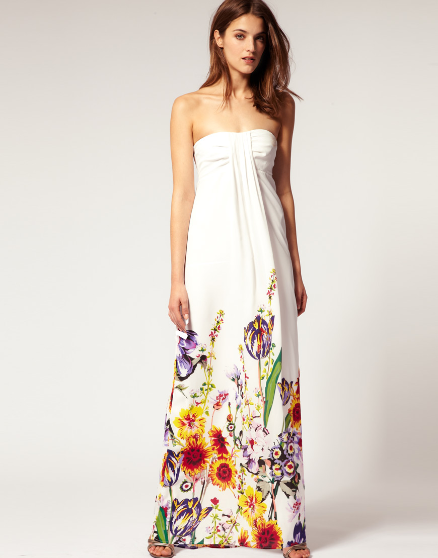 Bright Smile Maxi Dresses I Love