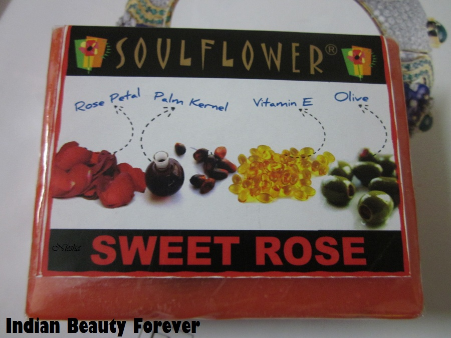 Soulflower Sweet Rose soap Review
