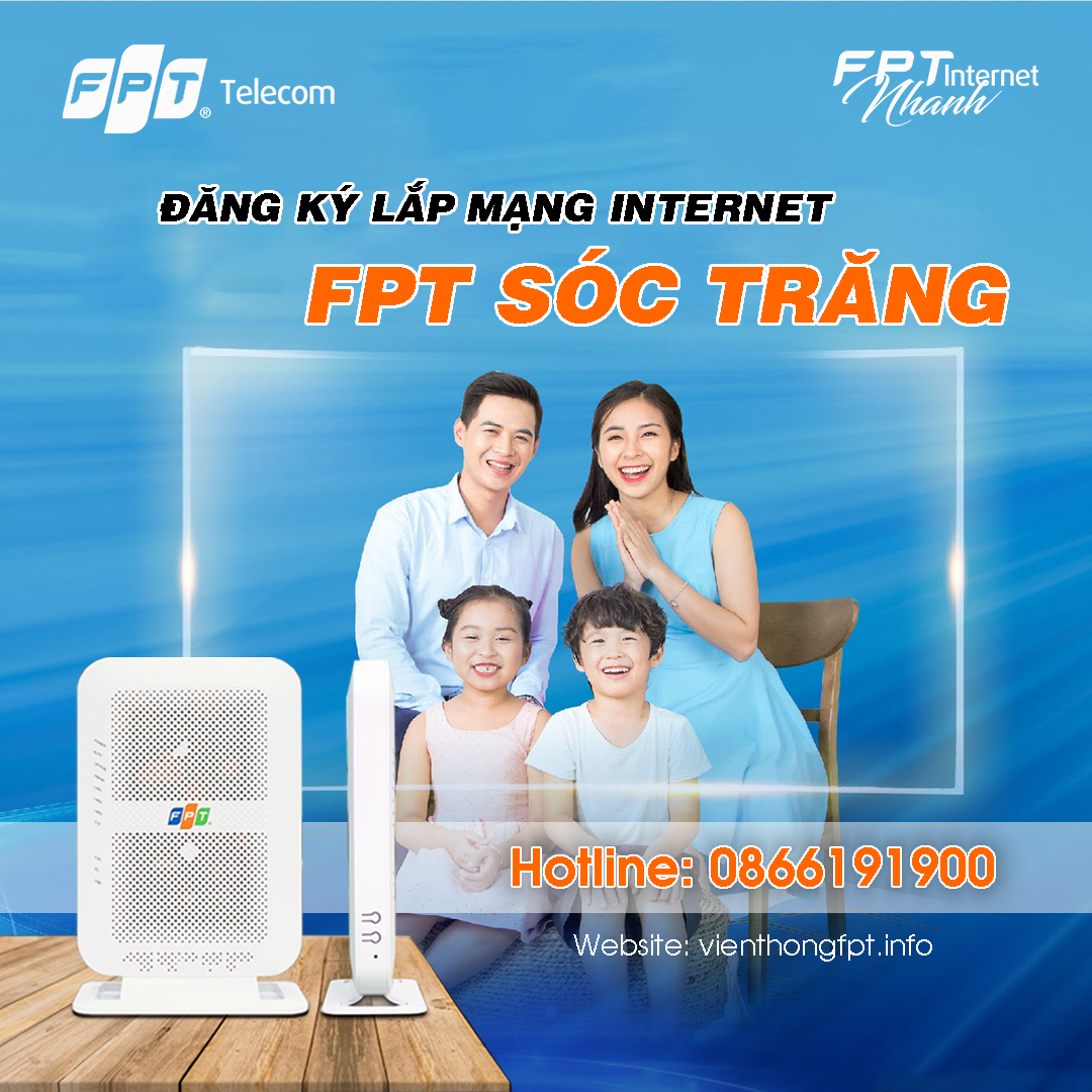 Đăng ký Internet FPT tại Sóc Trăng