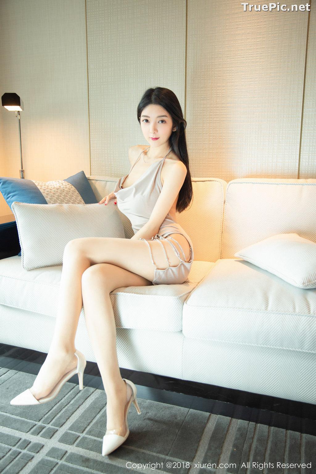 Image XIUREN No.1141 - Chinese Model - Xiao Reba (Angela小热巴) - Sexy Dress Tonight - TruePic.net - Picture-17
