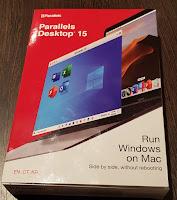 Parallels Desktop 15 box.