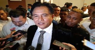 Yusril Akui Kajian Saksi Ahli 02 Bisa Batalkan Kemenangan Jokowi-Ma'ruf