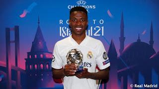 Vinicius MVP del partido de ida