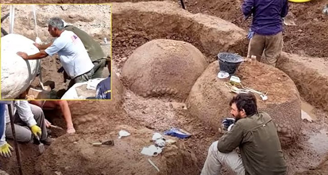 Strange Things Found Buried