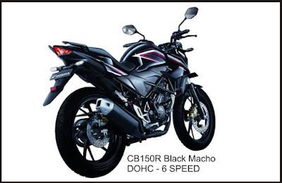 New CB150R Black Macho DOHC Moto GP