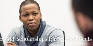 ESMT Scholarship for MIM Students