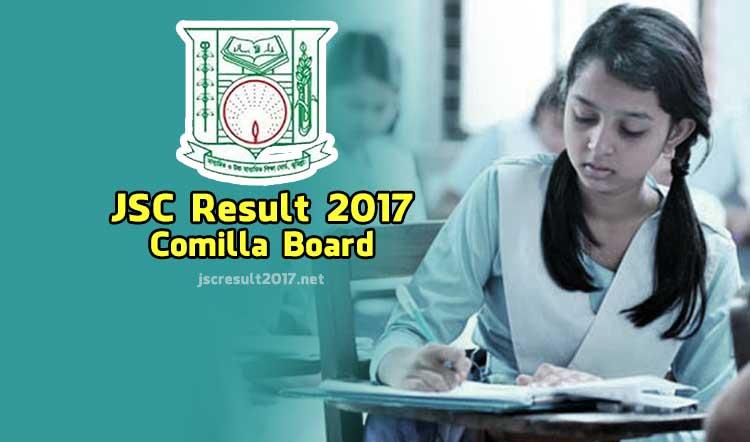 JSC Result 2017 Comilla Board