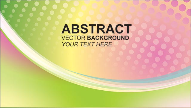 Colorful Abstract Background Free Vector Image Cdr file Download