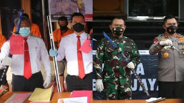 Polres Ngawi Sebut Barbuk Samurai yang Mirip dengan Senjata Laskar FPI Cuma Kebetulan