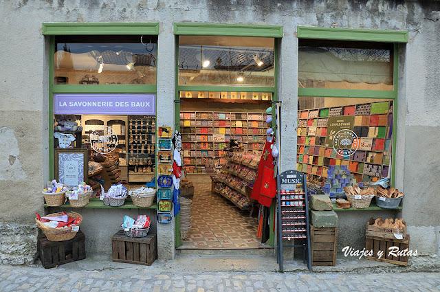 Jabones de la Provenza en Les-Baux-de-Provence