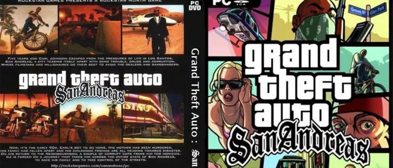 Latest GTA San Andreas PS2, PS3, and PC Cheat Codes