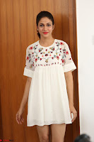 Lavanya Tripathi in Summer Style Spicy Short White Dress at her Interview  Exclusive 247.JPG