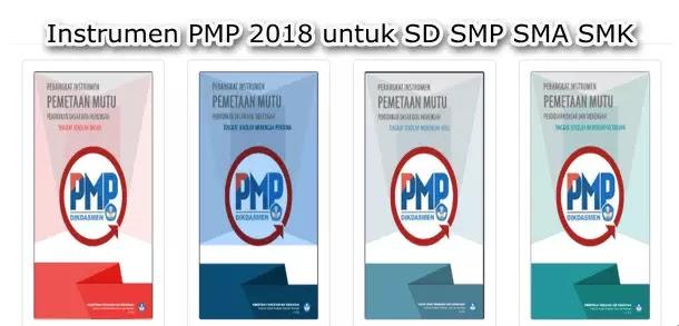 Instrumen PMP 2018 untuk SD SMP SMA SMK