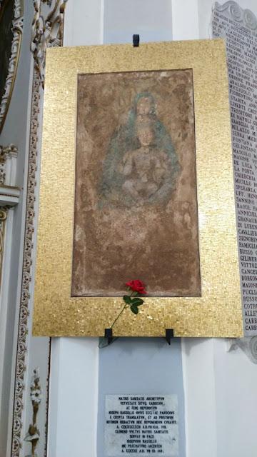 Quadro della Madonna della Basilica di Santa Maria alla Sanità-Rione Sanità-Napoli