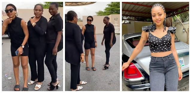 There is nothing you say that will touch me, I learnt that from my mother- Regina Daniels (video)