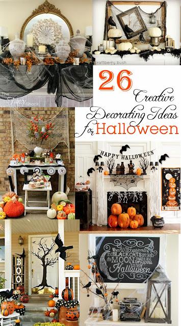 anderson + grant: 26 Creative Decorating Ideas for Halloween - Creative Halloween Decorating Ideas