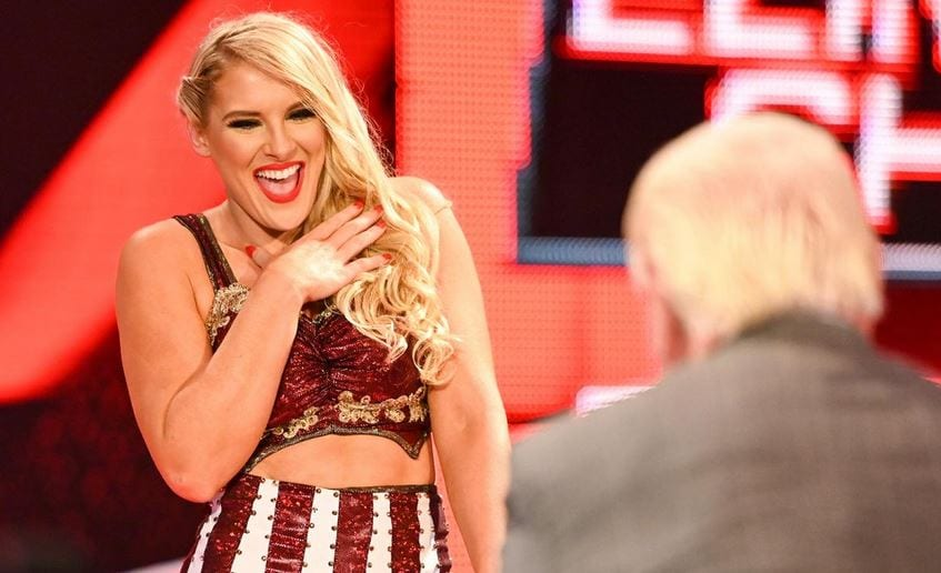 Lacey Evans pode ser substituída no WWE Elimination Chamber