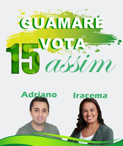 Resultado de imagem para Adriano, prefeito e Iracema (MDB), vice,