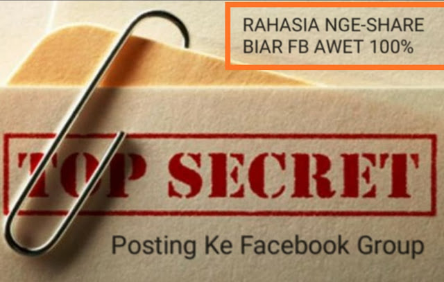 Rahasia Paling Jitu Sharing di Facebook Group