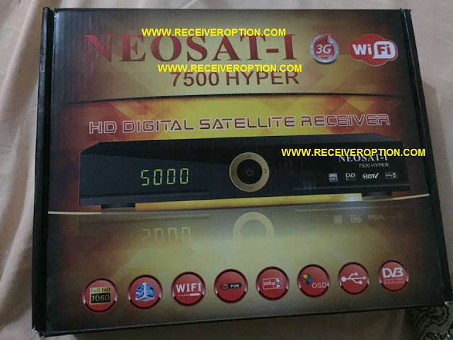 NEOSAT-I 7500 HYPER HD RECEIVER POWERVU KEY SOFTWARE