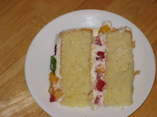 Gim S Delish Delights Chinese Style Sponge Cake With Fruits