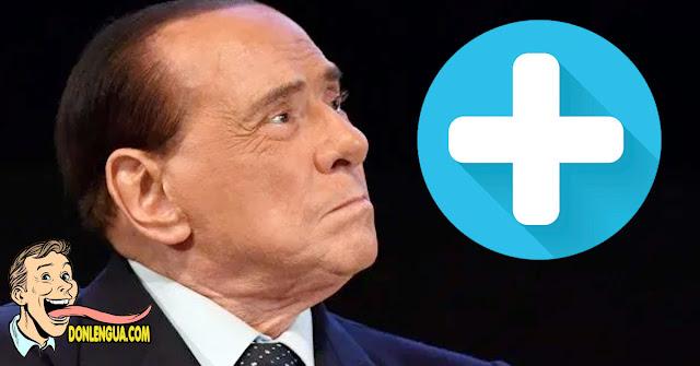 Silvio Berlusconi dio positivo e ingresó en un hospital