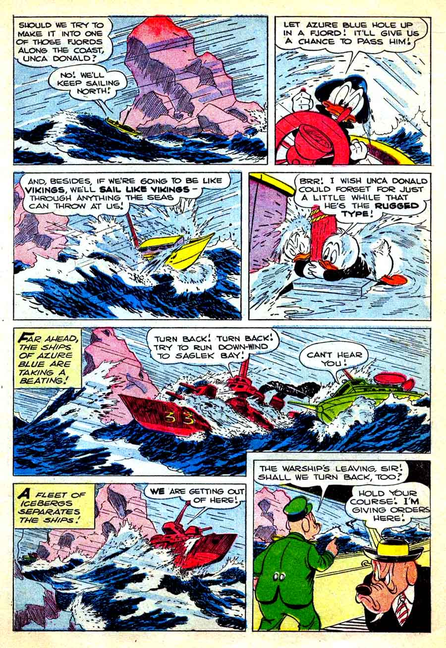 Donald Duck / Four Color Comics v2 #408 - Carl Barks 1940s comic book page art