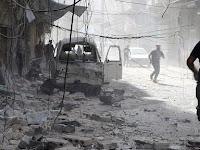 Helikopter Rezim dan Jet Rusia Kembali Serang Suriah, 28 Orang Tewas dan 55 Luka-Luka