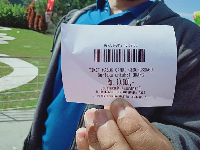 Candi Gedong Songo, Semarang Jawa Tengah - tiket
