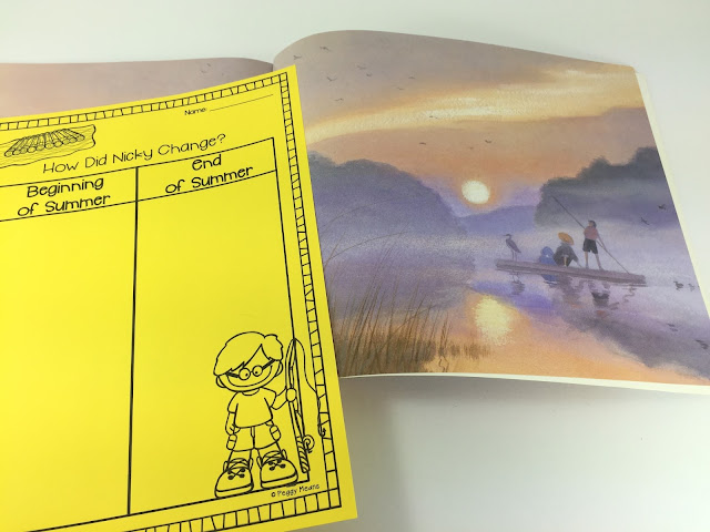'The Raft' the perfect May read aloud with free book companion.