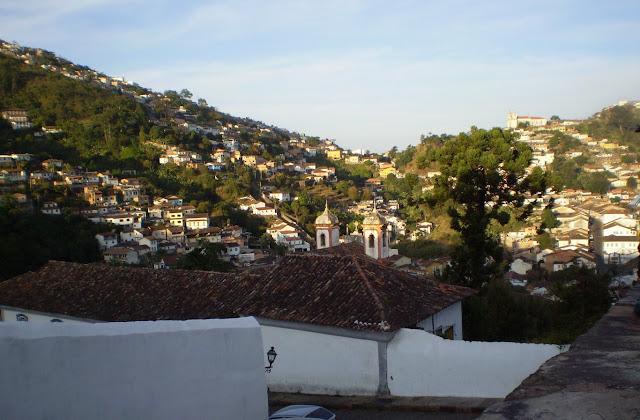 Vista panorâmica da Cidade de Ouro Preto