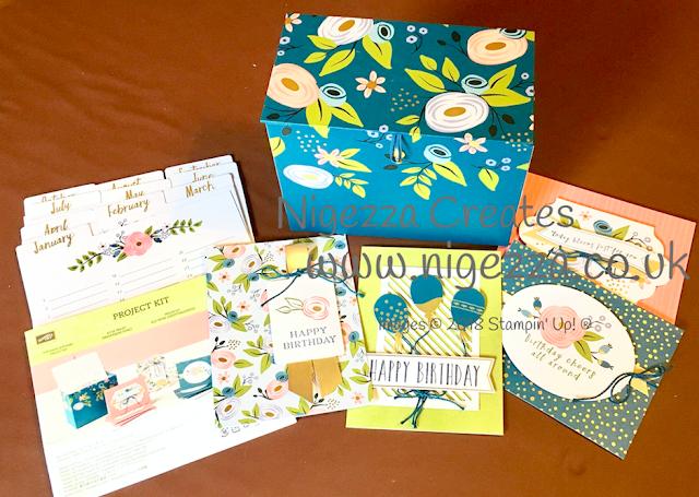 Stampin' Up!® Perennial Birthday Project Kit Nigezza Creates