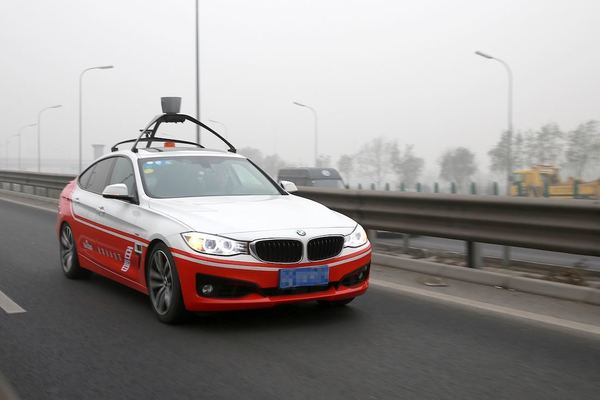 China begins driverless smart car tests on the streets of Beijing