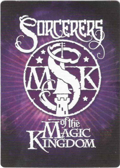 Sorcerers of the Magic Kingdom Spell Card Back