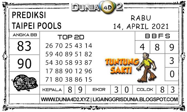 Prediksi Togel TAIPEI DUNIA4D2 14 APRIL 2021