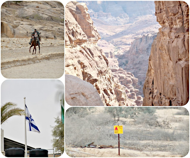 From Petra to the Dead Sea Israeli border in travel