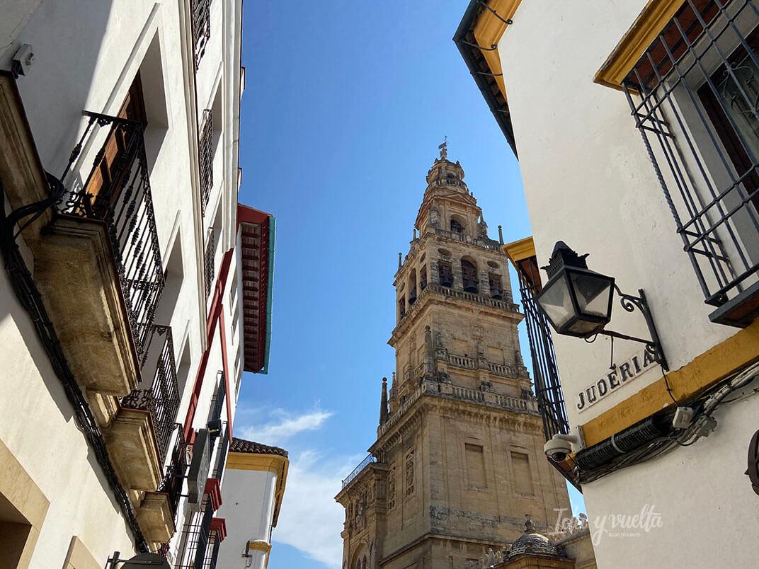 Visitar Córdoba torre Mezquita