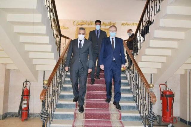 محافظ سوهاج يستقبل سفير الاتحاد الأوروبي في زيارته الأولى للمحافظة