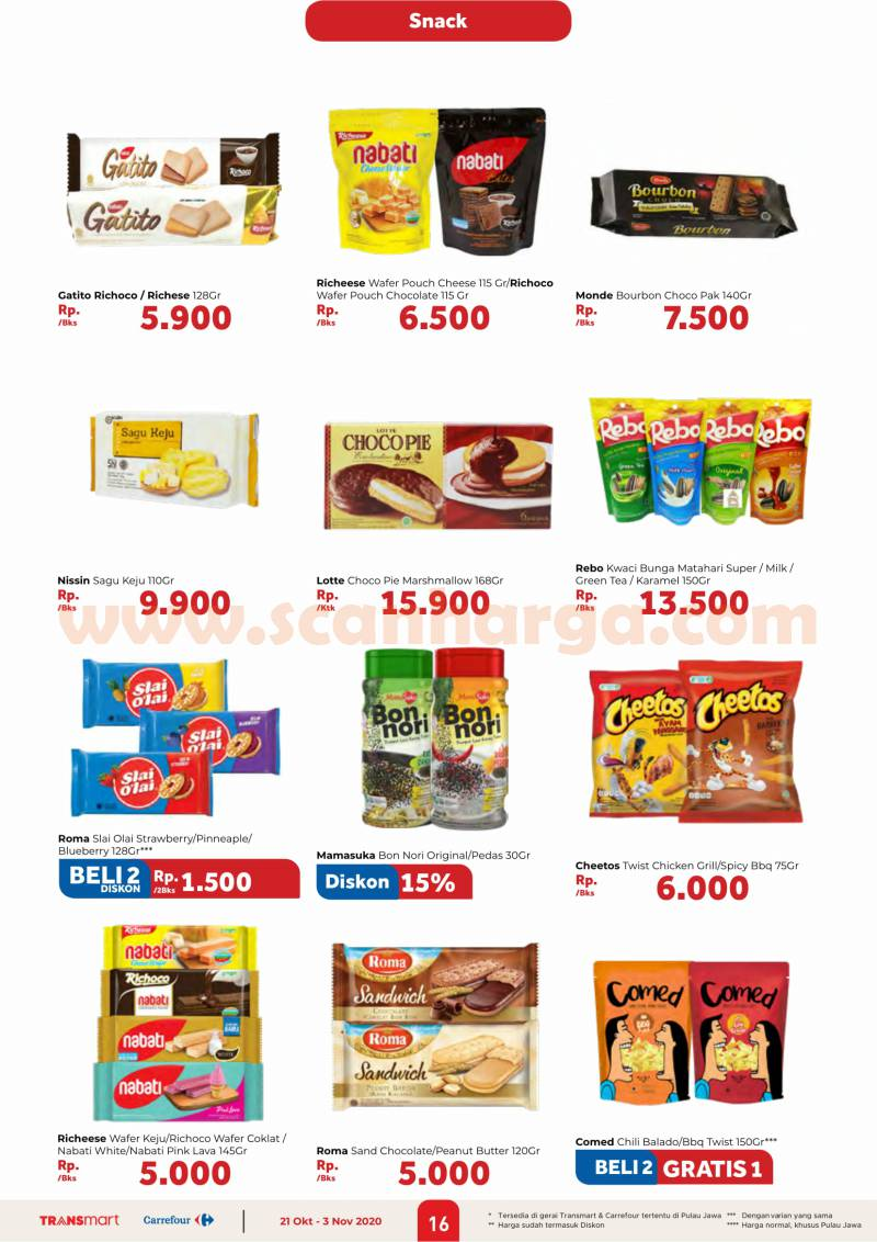 Katalog Promo Carrefour 21 Oktober - 3 November 2020 16