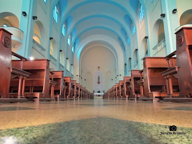 Perspectiva artística do interior da Paróquia Imaculada Conceição - Ipiranga - São Paulo